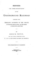 Sketches in the History of the Underground Railroad PDF