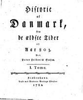 Historie af Danmark: Bind 1