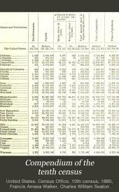 Compendium of the Tenth Census (June 1, 1880)