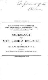 Osteology of the North American Tetraonidae