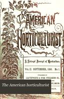The American Horticulturist PDF