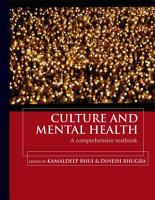 Culture and Mental Health  A comprehensive textbook PDF