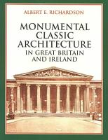 Monumental Classic Architecture in Great Britain and Ireland PDF