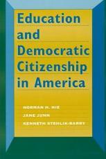 Education and Democratic Citizenship in America PDF