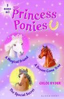 Princess Ponies Bind up Books 1 3 PDF