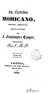 El último mohicano, 3: historia america escrita en inglés