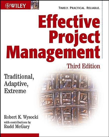 Effective Project Management PDF
