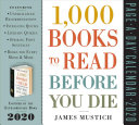 1,000 Books To Read Before You Die 2020 Calendar