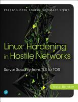 Linux Hardening in Hostile Networks PDF