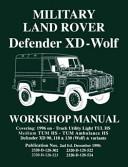 Military Land Rover Defender XD-Wolf Workshop Manual
