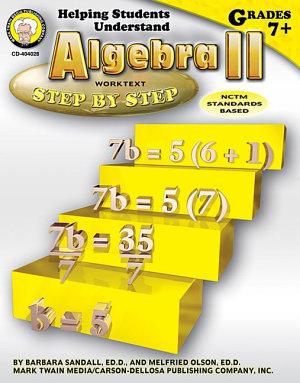 Helping Students Understand Algebra II  Grades 7   8 PDF