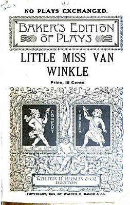 Little Miss Van Winkle