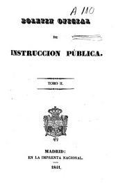 Boletín oficial de instrucción pública: Volumen 2