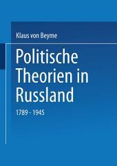 Politische Theorien in Russland: 1789–1945