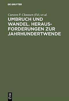 Umbruch und Wandel  Herausforderungen zur Jahrhundertwende PDF