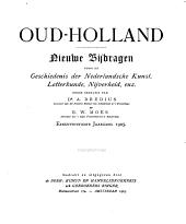 Oud-Holland: tijdschrift voor Nederlandse kunstgeschiedenis, Volume 21