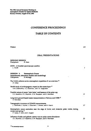 IRF Scientific Report