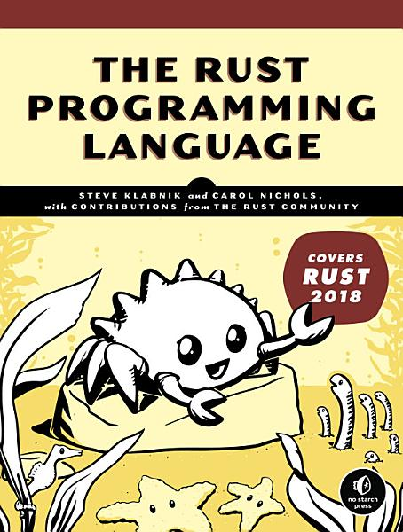 Download The Rust Programming Language  Covers Rust 2018  Book
