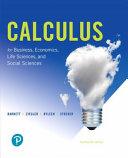 Calculus for Business  Economics  Life Sciences  and Social Sciences PDF