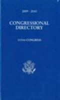 Official Congressional Directory  2009 2010  111th Congress  Convened January 2009  Paperback  PDF
