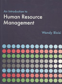 An Introduction to Human Resource Management PDF