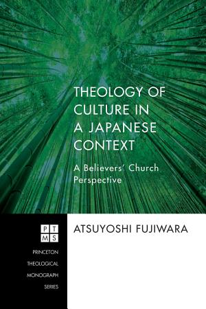 Theology of Culture in a Japanese Context PDF