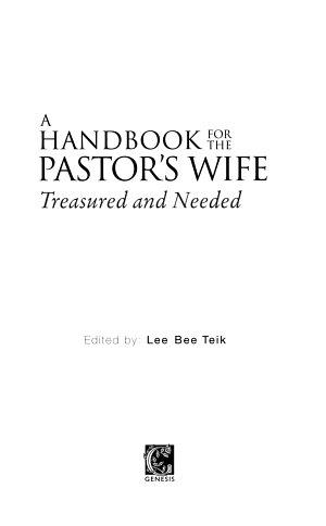 Handbook for Pastor's Wife