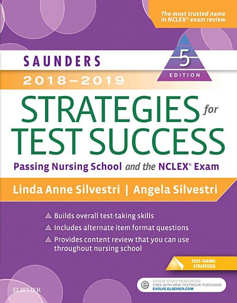 Saunders 2018 2019 Strategies for Test Success   E Book