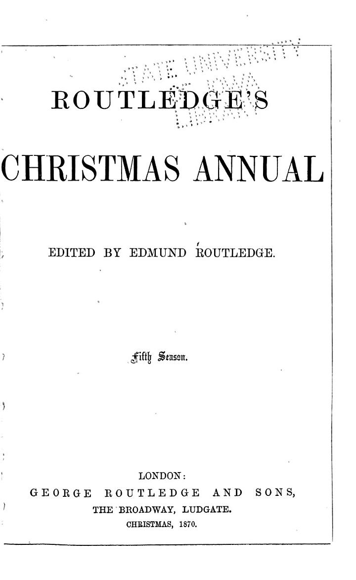 Routledge's Christmas Annual