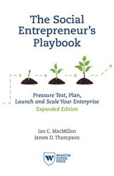 The Social Entrepreneur S Playbook Expanded Edition Book PDF