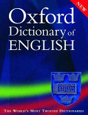 Oxford Dictionary of English  PDF