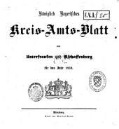 Königlich-bayerisches Kreis-Amtsblatt von Unterfranken und Aschaffenburg: für d. Jahr ... 1859