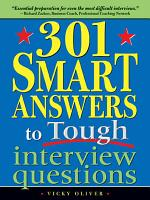 301 Smart Answers to Tough Interview Questions PDF