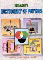 Bharat Dictionary Of Physics PDF
