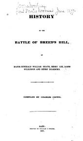 History of the Battle of Breed's Hill