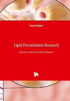Lipid Peroxidation Research PDF