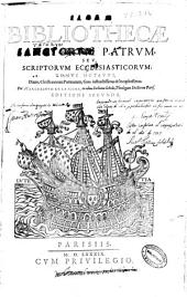 Sacrae bibliothecae sanctorum patrum seu scriptorum ecclesiasticorum tomus sextus: Diuite, christianorum poëmatum, Gaza instuctissimus & locupletssimus