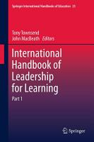 International Handbook of Leadership for Learning PDF