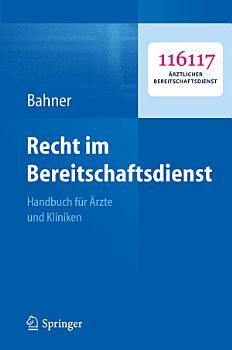 Recht im Bereitschaftsdienst PDF