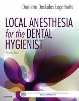 Local Anesthesia for the Dental Hygienist   E Book PDF