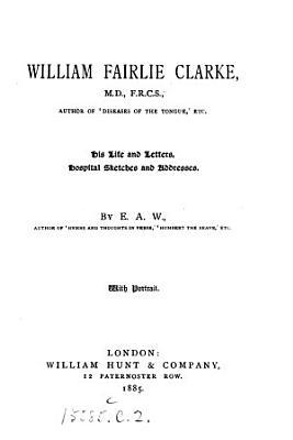 William Fairlie Clarke PDF