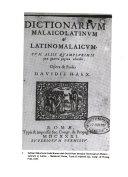 Catalogue of the Malay collection  University of Malaya Library PDF