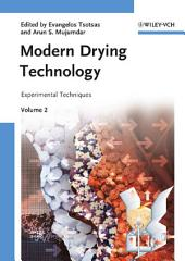Modern Drying Technology, Experimental Techniques