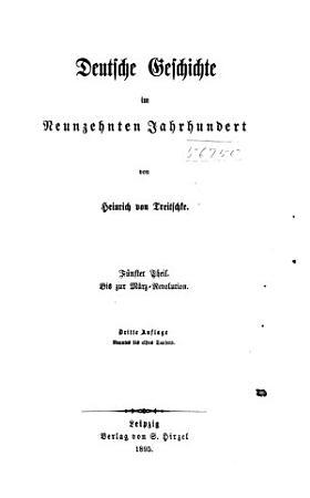Deutsche Geschichte im neunzehnten Jahrhundert PDF
