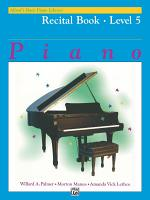 Alfred's Basic Piano Library - Recital Book 5