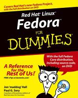 Red Hat Linux Fedora For Dummies PDF