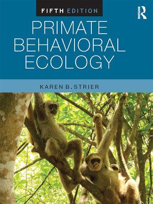 Primate Behavioral Ecology PDF