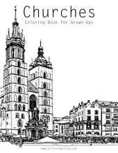 Churches Coloring Book for Grown-Ups 1
