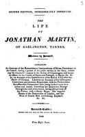 The life of Jonathan Martin  written by himself PDF