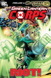 Green Lantern Corps (2006-) #36